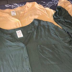 2PC women's blouses SIZE XL